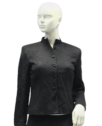 Worth 80's Blazer Black Size 2 SKU 000033
