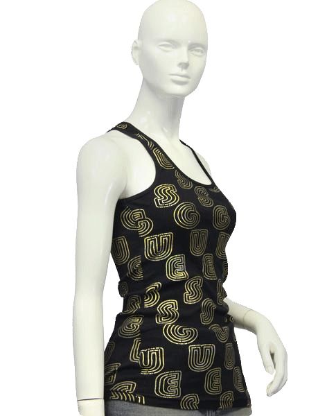 Guess Gold Search Tank Top Size S (SKU 000012)