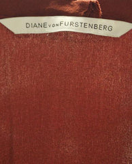 Diane Von Furstenberg Rouge Top/Dress Sz S (SKU 000003)
