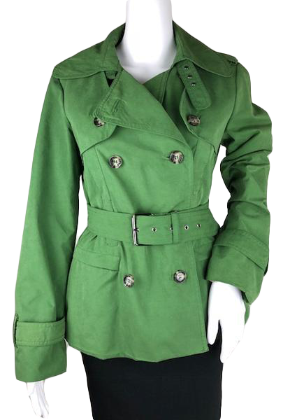 7cacd7b2 Zara Woman Short Trench Coat Size M (SKU 001010-2) – Designers On A Dime