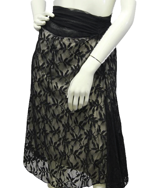 Max Studio Black Lace Skirt Size XS NWT (SKU 000013)