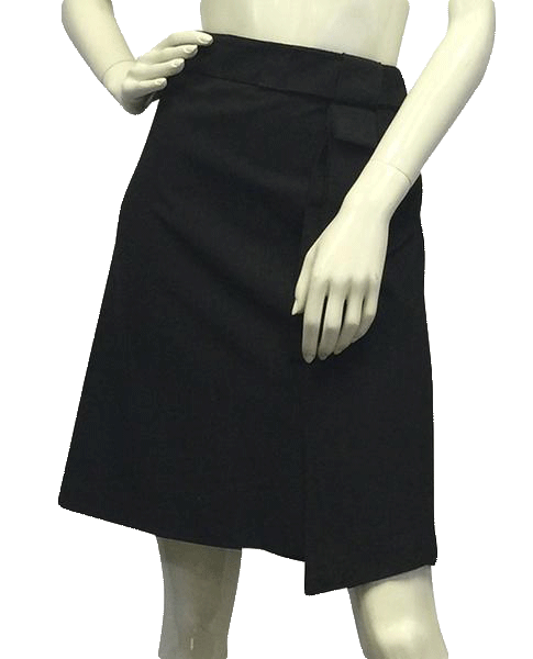 Adrienne Vittadini Gray Pencil Skirt Size 6 SKU 000052
