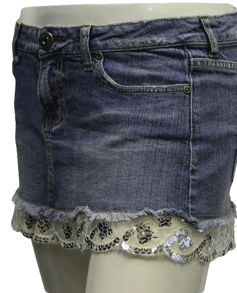 YMI Dream Jean Skirt Sz 5 (SKU 000002)