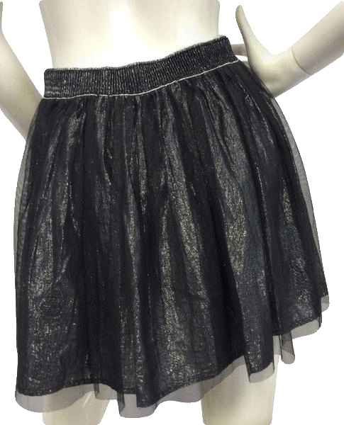 Decree Shimmer Me Down Party Skirt Size M  (SKU 000004)