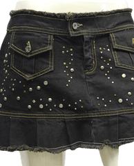 SKIRT Rodeo Queen  Dark Denim Sz 29 (SKU 000002)