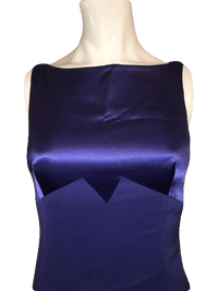 Tahari Jewel Tone Purple Ankle Length Formal Ball Gown Size 2 SKU 000201