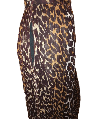2 of Us Animal Print Skirt Size M SKU 000144