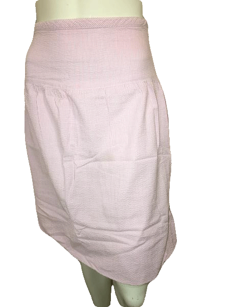 Tommy Hilfiger Pink Pin Striped Skirt Size 8 (SKU 000154)