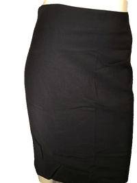 Ann Taylor Black Professional A-Line Skirt Size 2 SKU 000154