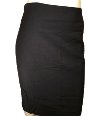 Ann Taylor Black Professional A-Line Skirt Size 2 (SKU 000154)