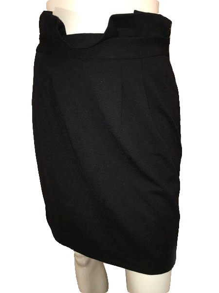 Banana Republic Black Skirt Size 4 (SKU 000154)