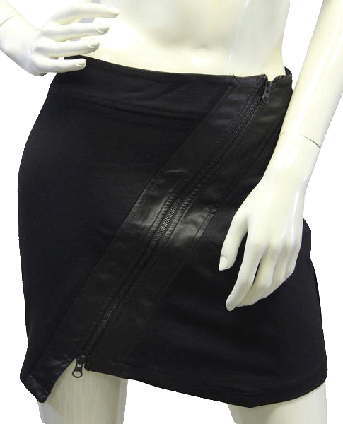 Guess Dipped and Zipped Skirt Size L (SKU 000012)