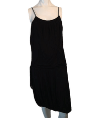 To The Max Black Dress with Spaghetti Straps Size S (SKU 000123)