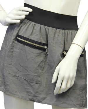 Steve Madden Gray Mini Skirt Size SM - Designers On A Dime - 1