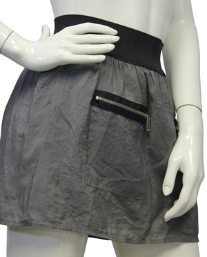 Steve Madden Gray Mini Skirt Size SM - Designers On A Dime - 2