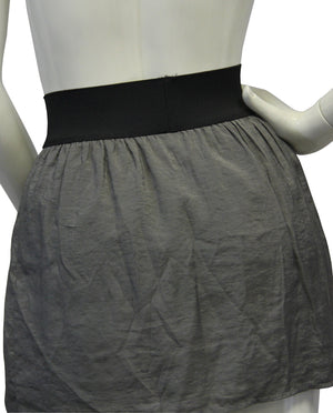 Steve Madden Gray Mini Skirt Size SM - Designers On A Dime - 3