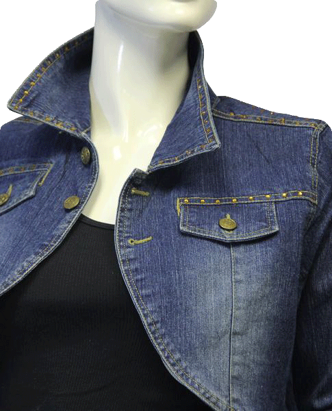 Joey Beth Blazer Cropped Denim Medium (SKU 000006)