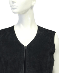 Superstar Black Suede Vest Size (SKU 000018)