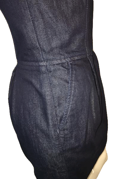 7 for All Mankind Denim Dress Strapless Size Small (SKU 000200)