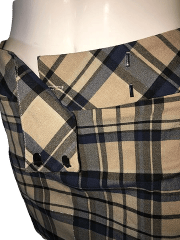 "Tracy Evans Limited Plaid Mini Skirt Size 30"" (SKU 000094)"