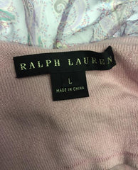 Ralph Lauren Black Label Knit Top Size L (SKU 000016)