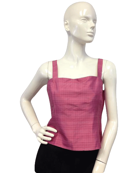 Jones New York 70's Tank Top Size Pink 8 SKU 000025