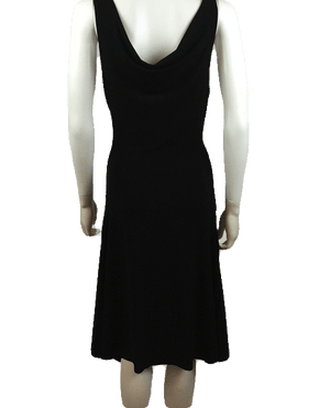 Necessary Objects 70's Little Black Dress Size Large SKU 000061