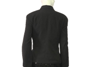 Requirements 70's Blazer Black Size 14 SKU 000050
