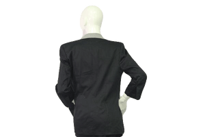 E. de Claude Blazer Black & White SKU 000050
