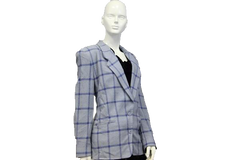 Anne Klein Classics Powder Blue Blazer Size 10 (SKU 000058) - Designers On A Dime - 2