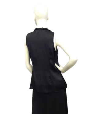 Halogen Black Sleeveless Top Size Small SKU 000071