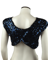 Free The Night Sequin Crop Top Size XS (SKU 000024)