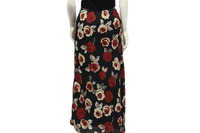 Roses are Red Maxi Skirt Size Small SKU 000054