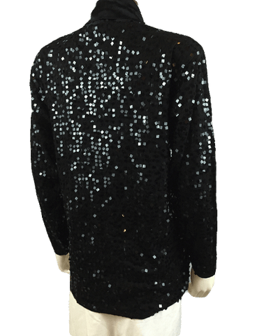 Lights, Camera, Action Sequin Top Sz S (SKU 000011)