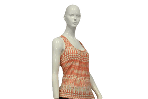 Orange Cutie 90's Tank Top Size S SKU 000051