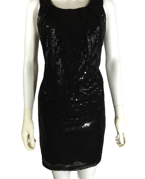 Wet Seal Sequin Little Black Dress Size Medium SKU 000064