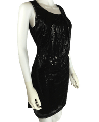 Sequin Little Black Dress Size Medium (SKU 000064)