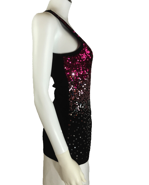 Sequin Stretchy Sexy Top Size Large (SKU 000025)