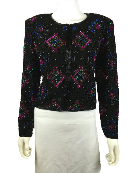 Sweet Dreams Sequin Blazer Sz M (SKU 000010)