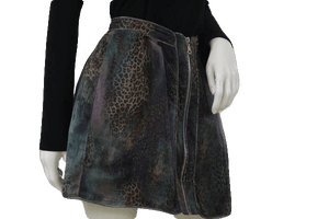 Twelve By Twelve Skirt Animal Print S/P SKU 000105