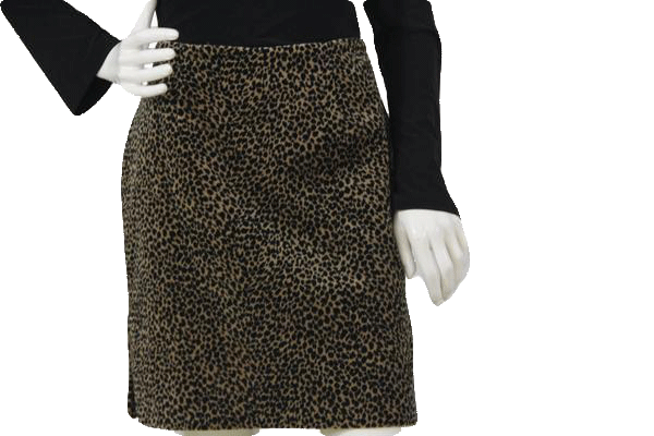 B-A-D Animal Print Skirt Size Medium (SKU 000105)
