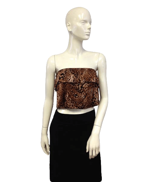 Wet Seal 80's Top Animal Print Size XL SKU 000027