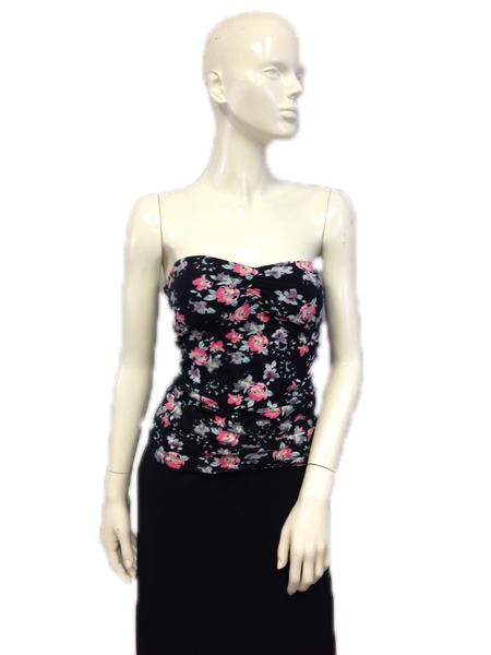 Floral Tube Top Size L (SKU 000024)