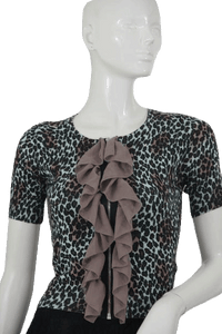 Twelve By Twelve Top Animal Print Size Small SKU 000105