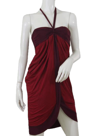 BCBG Red Strapless Dress (SKU 000089)