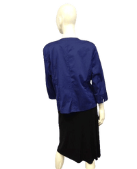 Joan Rivers 80's Jacket Blue SKU 000030