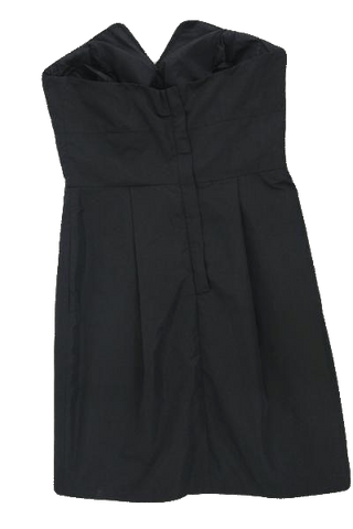 BCBG Little Black Strapless Dress Size 2 (SKU 000097)