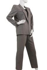 Alfred Dunner Glen Plaid Two Piece Suit Set Size 10 Petite (SKU 000111)