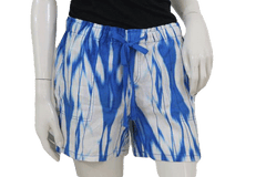 Turquoise and White Tie Dye Shorts NWT Size 8 (SKU 000070)