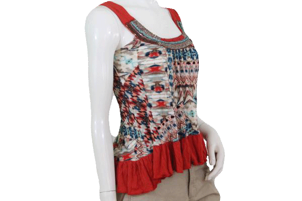 Boho Daytrip Beaded Top Size Extra Small (SKU 000095)